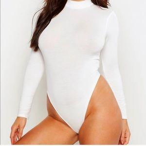 Basic Turtleneck Long Sleeve Bodysuit